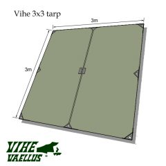 Vihe 3×3 Tarp