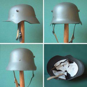(English) M18eco German Helmet – Reproduction